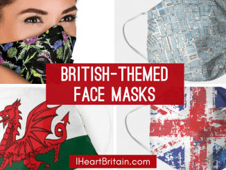 british face masks union jack thistle